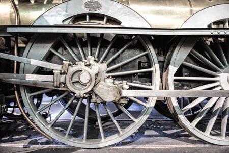 old locomotive 版權商用圖片 - 130798639