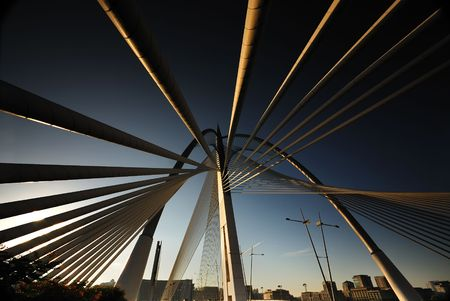Suspention Bridge at Putrajaya Malaysia