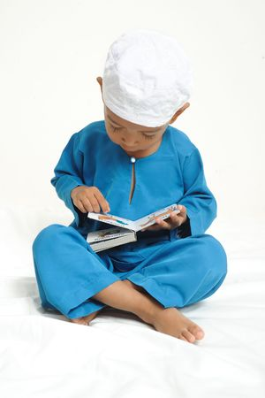 were: Islamic children  were learning