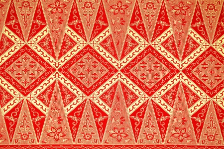 batik: Traditional Batik Sarong Pattern Background