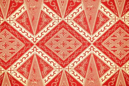 batik: Traditional Batik Sarong Pattern Background