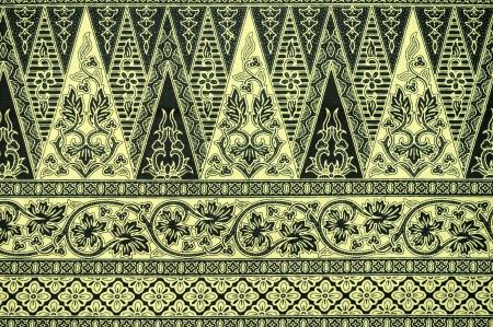 伝統的なバティック サロン パターン背景