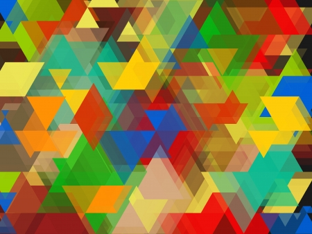 Colour full shape Abstract Background Stock Photo - 19014069