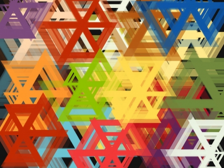 Colour full shape Abstract Background Stock Photo - 19014123