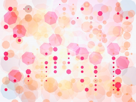 heptagon: Heptagon abstract shape on white background Stock Photo