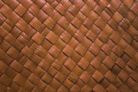 screwpine: natural handcraft texture of straw mat