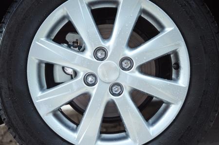 Car Wheel and brake disk Stock Photo - 20418203