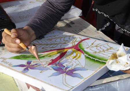 batik sketch