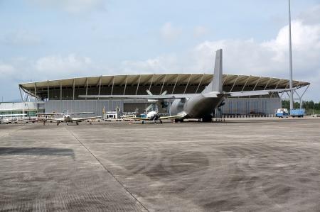 aeroplane hangar