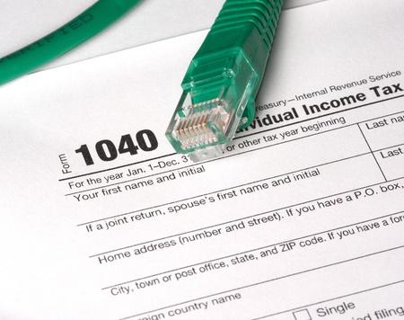 business law: E-File Taxes