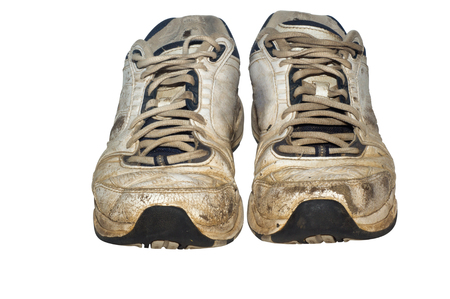 Old Shoes - A pair old old shoes. Concepts can range from age, comfort, experience, dirty, odor, sports and more.