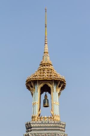 belfry in Wat Phra Si Rattana Satsadaram