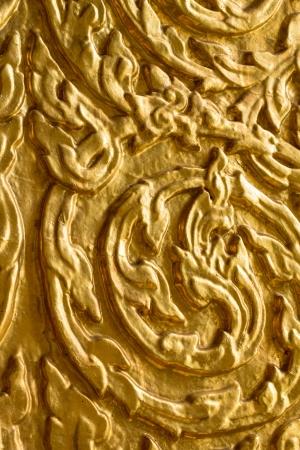 Pattern on the door at Wat Saket  The Golden Mount