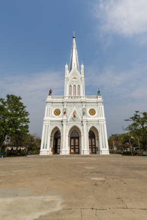 Church in Thailand  The Nativity of Our Lady, Cathedral  Stock Photo