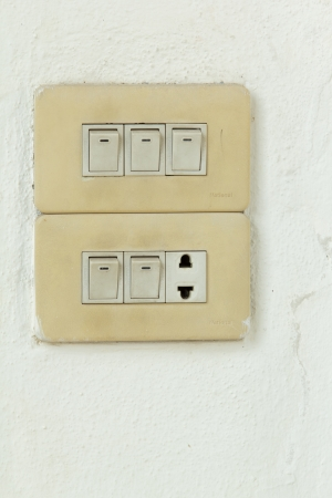 Old Switch Stock Photo