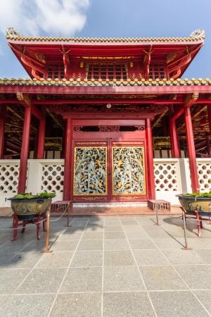 Chinese style gate at bangpa-in palace
