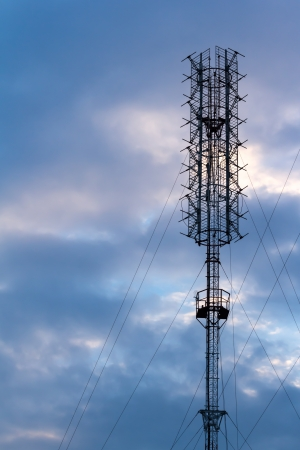 Antenna signal Stock Photo