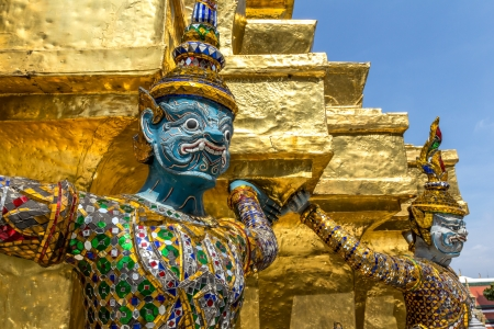 Giant in grand palace,Thailand