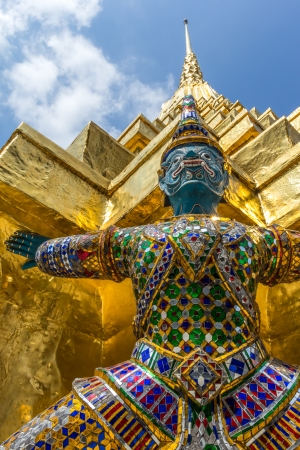Giant in grand palace,Thailand photo