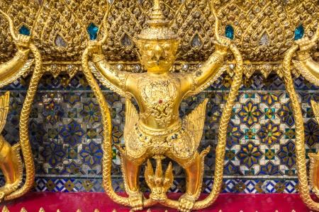 Garuda statue in grand palace