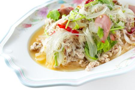 Yum woon sen   Spicy noodle salad