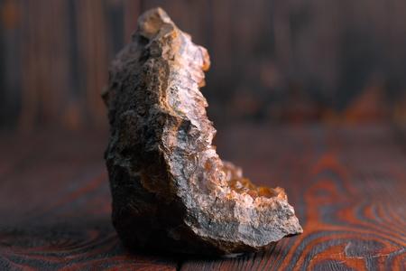 酸化鉄とヘマタイトの水晶。