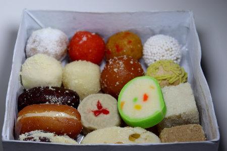 tasty multiple sweet stock on box