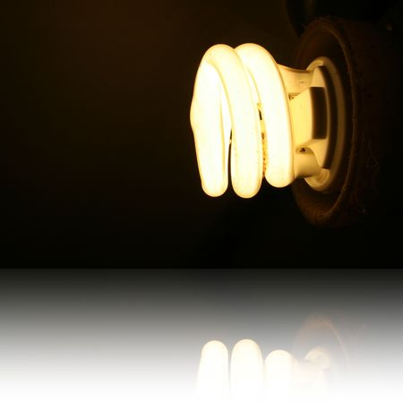 Energy Saving Lighbulb Stock Photo - 6598674