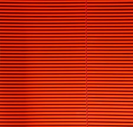 Orange Striped Slats