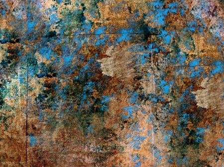 Metallic multicolour texture in blue, green and gold Stock Photo - 14748157