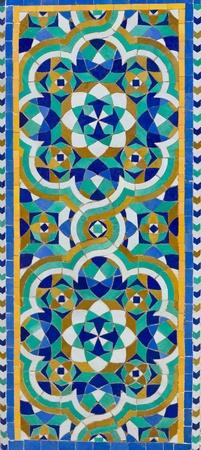moroccan culture: oriental pattern