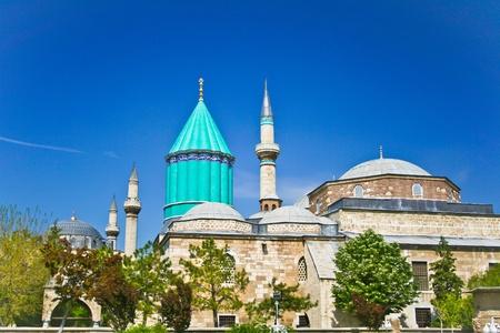 Mevlana - heilige plaats in het centrum van Konya