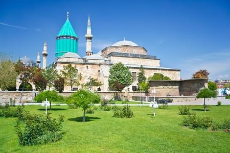 konya: Mevlana - holy place in the center of Konya Stock Photo