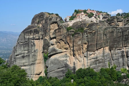 beautiful Meteora rock monastery in Greece  Stock Photo - 13427513