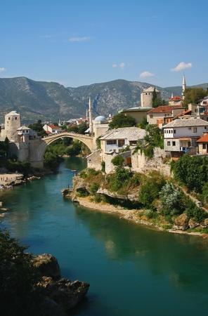 Oude brug in Mostar, Bosnië en Herzegovina