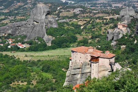 beautiful Meteora rock monastery in Greece  Stock Photo - 13770966