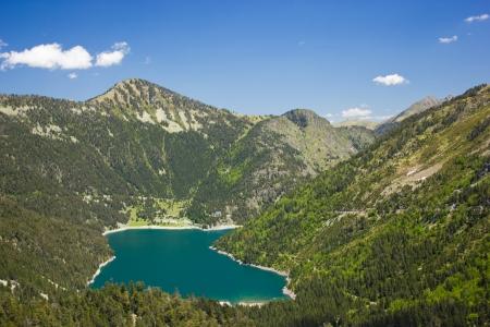 Lake Oredon in French Pyrenees photo