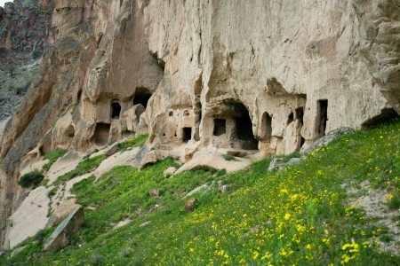 Beautiful view of Ihlara valley in Cappadocia, Turkey Stock Photo - 14310274