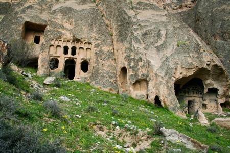 ravine: Beautiful view of Ihlara valley in Cappadocia, Turkey