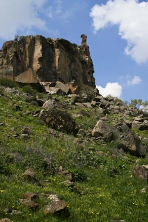 Beautiful Ihlara valley in Cappadocia, Turkey Stock Photo - 14516835