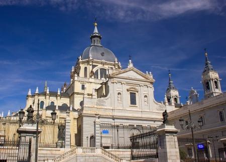 Catedral de la Almudena - cathedral church in the center of Madrid