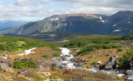 amazing view of nature in Kamchatka