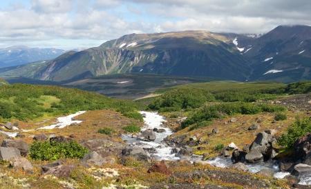 prachtig uitzicht op de natuur in Kamchatka