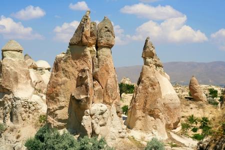 goreme: valley of love in Goreme, Cappadocia  Stock Photo