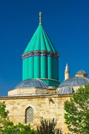 Mevlana - sacred sufi center in the center of Konya, Turkey