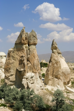 phallus: valley of love in Goreme, Cappadocia  Stock Photo