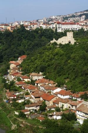 veliko: Medieval town of Veliko Tarnovo in Bulgaria