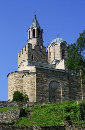 veliko: Orthodox church in medieval town of Veliko Tarnovo in Bulgaria