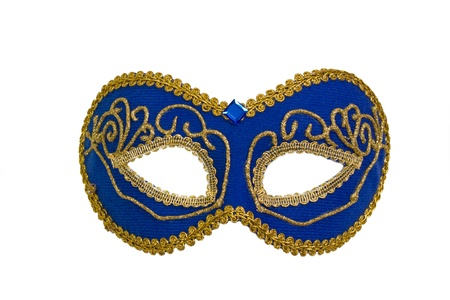 'mardi gras': Carnival mask isolated on white background