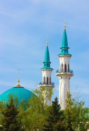 Kul Sharif mosque in Kazan photo